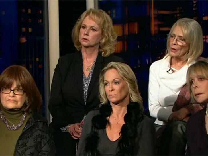 Sie fordern Gerechtigkeit und gehen offen gegen Bill Cosby vor