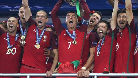EM 2016: Auf einmal halten alle zu Cristiano Ronaldo - Foto: getty