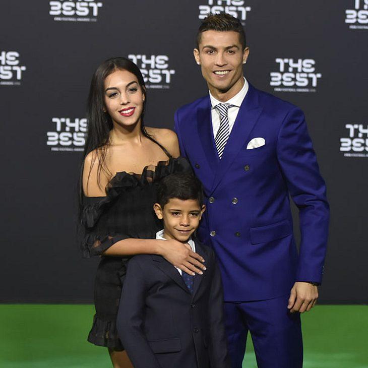 Cristiano Ronaldo zeigt neue Freundin Georgina Rodriguez