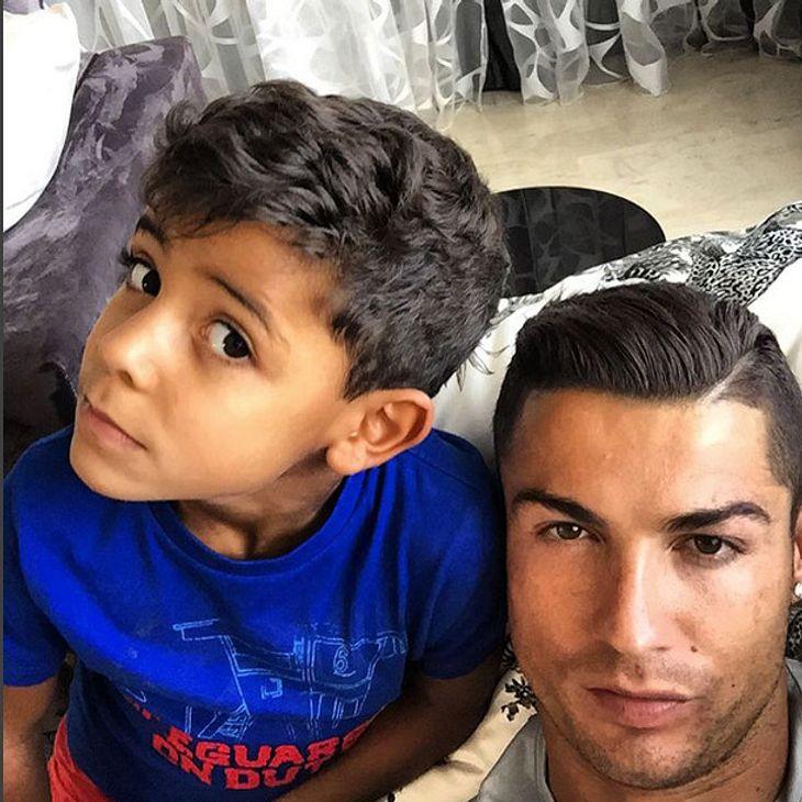 Seinen Sohn liebt Cristiano Ronaldo über alles
