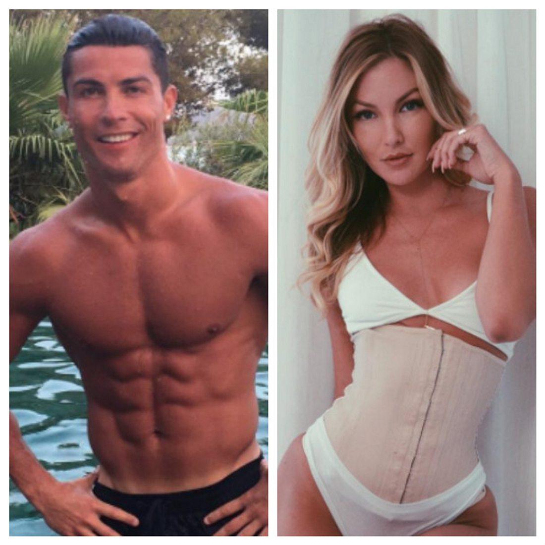 Cristiano Ronaldo geht auf Tuchfühlung mit Cassandre Davis