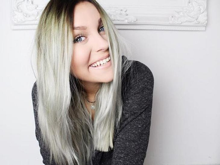 dagi bee youtube star berrascht schon wieder mit neuer haarfarbe. Black Bedroom Furniture Sets. Home Design Ideas