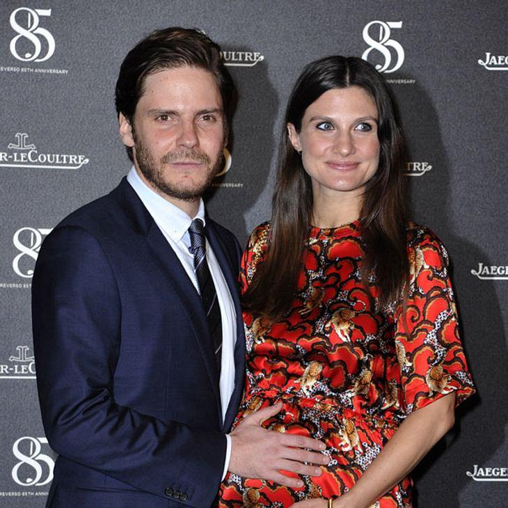 Daniel Brühl und Felicitas Rombold: Das Baby ist da!