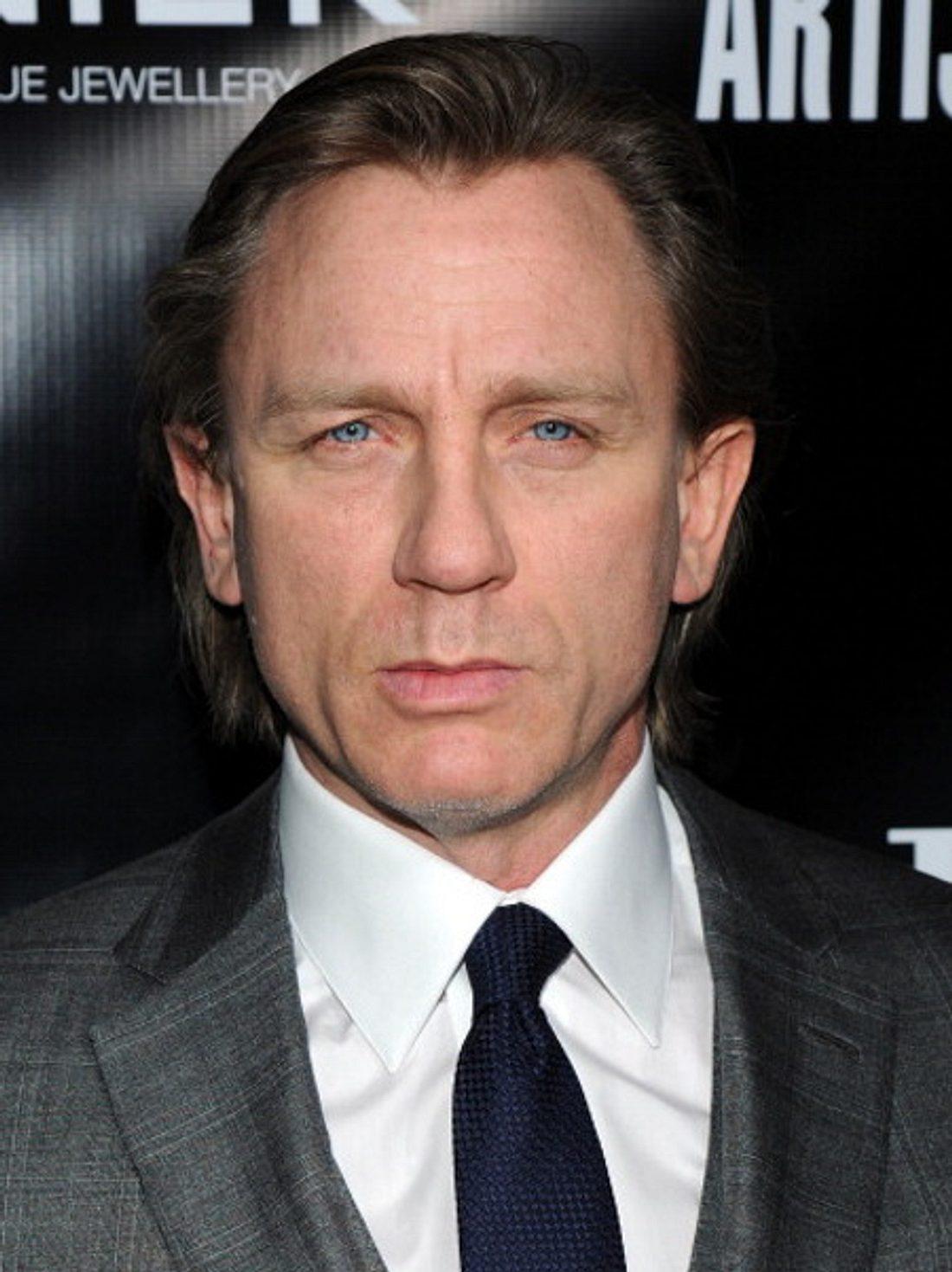 Daniel Craig hat jetzt lange Haare...