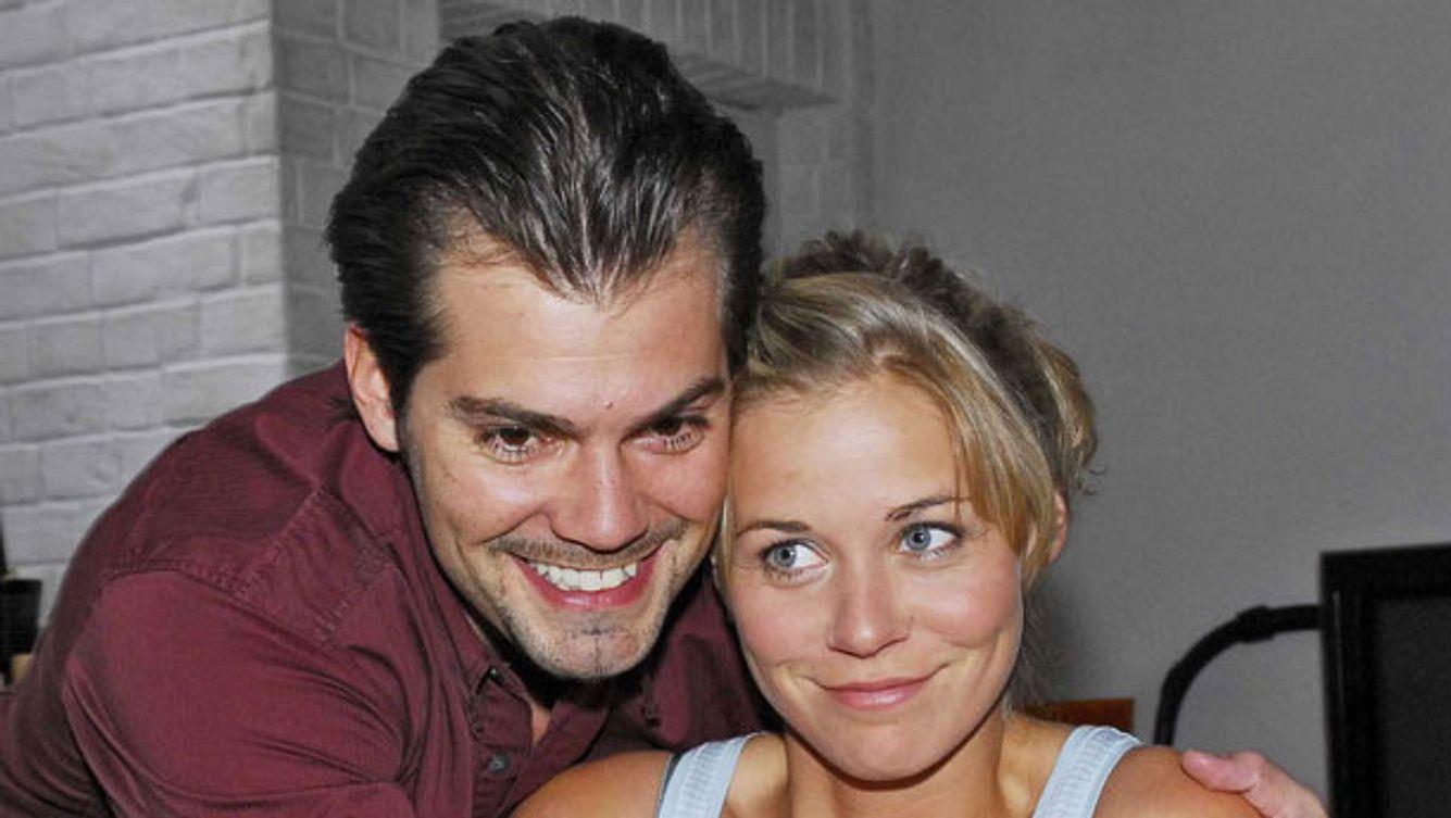 Daniel Fehlow und Rhea Harder bei GZSZ