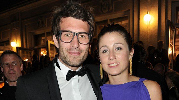 Daniel Hartwich und Hannah Hoelscher beim Deutschen Fernsehpreis