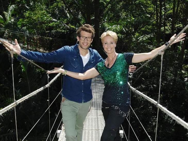 """Sonja Zietlow & Daniel Hartwich: Ihre besten SprücheDaniel Hartwch: """"Die Iris hat ja auch Restaurant, das 'Pfannkuchenhaus'.""""Sonja Zietlow: """"Jetzt sag mir aber nicht, da gibt's Pfannkuchen!""""Daniel Hartwich: """"Nee"""