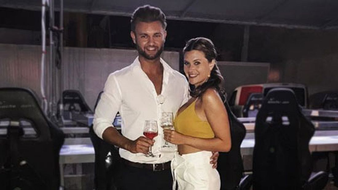 Daniel Lott und Nadine Klein