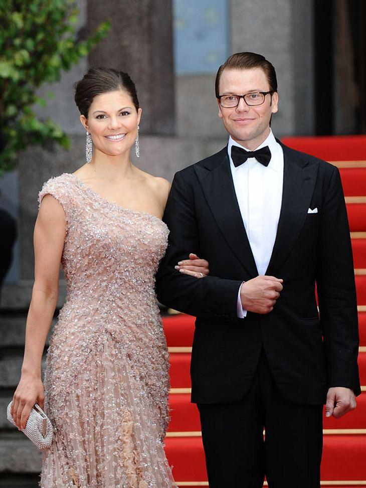 Kronprinzessin Victoria und Prinz Daniel sind frisch gebackene Eltern