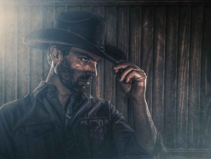 Jihaaaa: Daniel Brockhaus als Cowboy