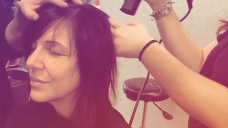 Daniela Büchner: Haar-Hammer! Sie hat eine neue Frisur