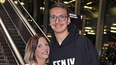 Daniela Büchner und ihr Sohn Volkan - Foto: GettyImages