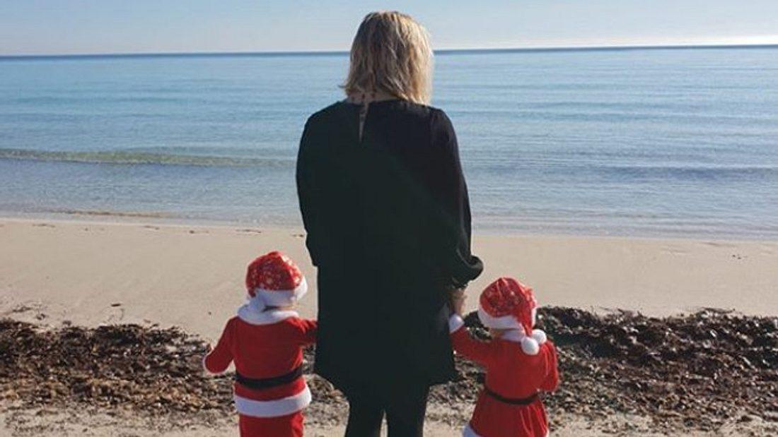Daniela Büchner und die Zwillinge vermissen Jens