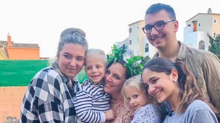 Daniela Büchner und ihre Familie