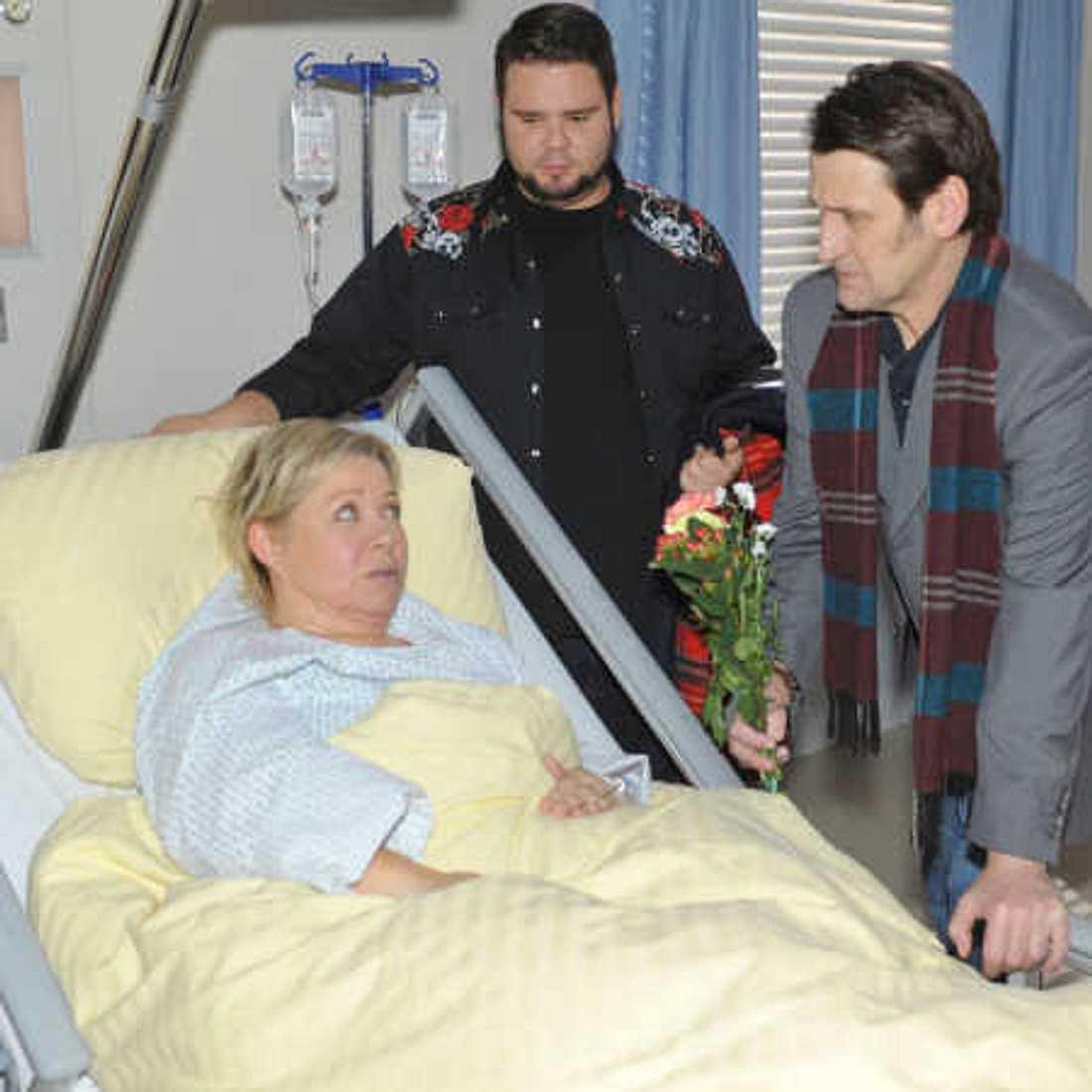 Tuners Mutter (Daniela Hoffmann) liegt im Krankenhaus