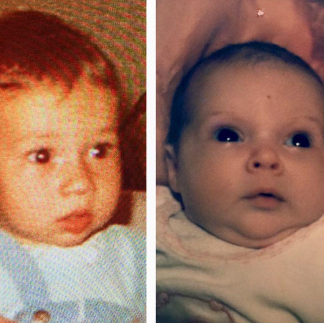 Süße Babyfotos von Daniela Katzenberger und Lucas Cordalis