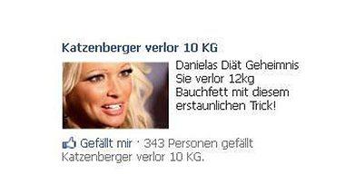 Vorsicht Fake! Daniela Katzenberger für Diät-Werbung missbraucht