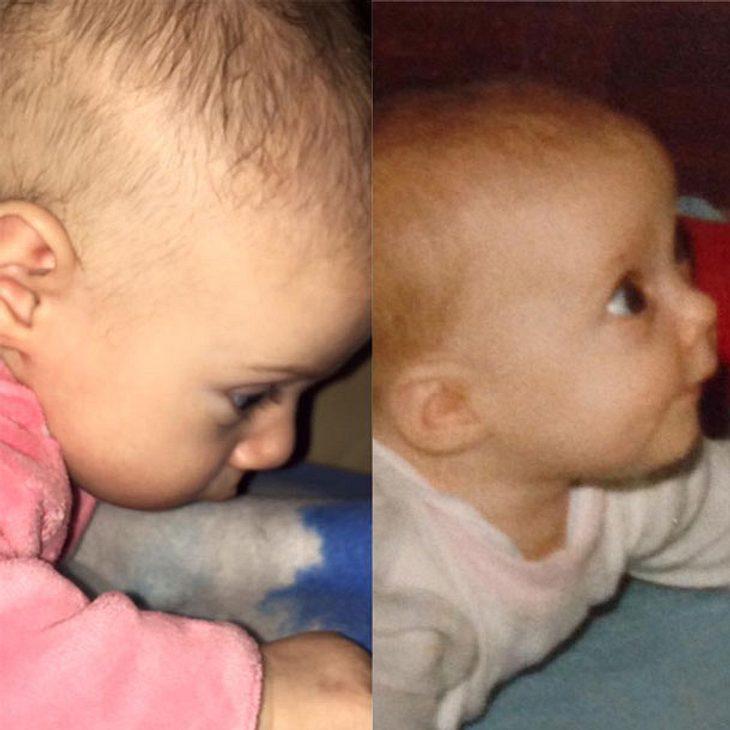 Daniela Katzenberger postet Baby-Vergleich: Mini-Sophia neben Mini-Daniela