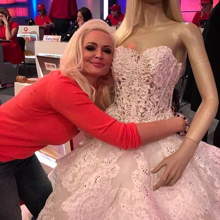 Daniela Katzenberger: Ihr Hochzeitskleid war nicht die wertvollste