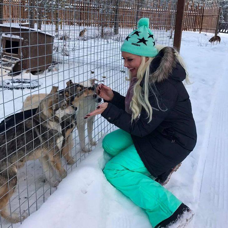 Daniela Katzenberger ist in Finnland