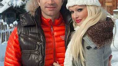 Daniela Katzenberger und ihr neuer Freund Lucas Cordalis. - Foto: Facebook / Lucas Cordalis