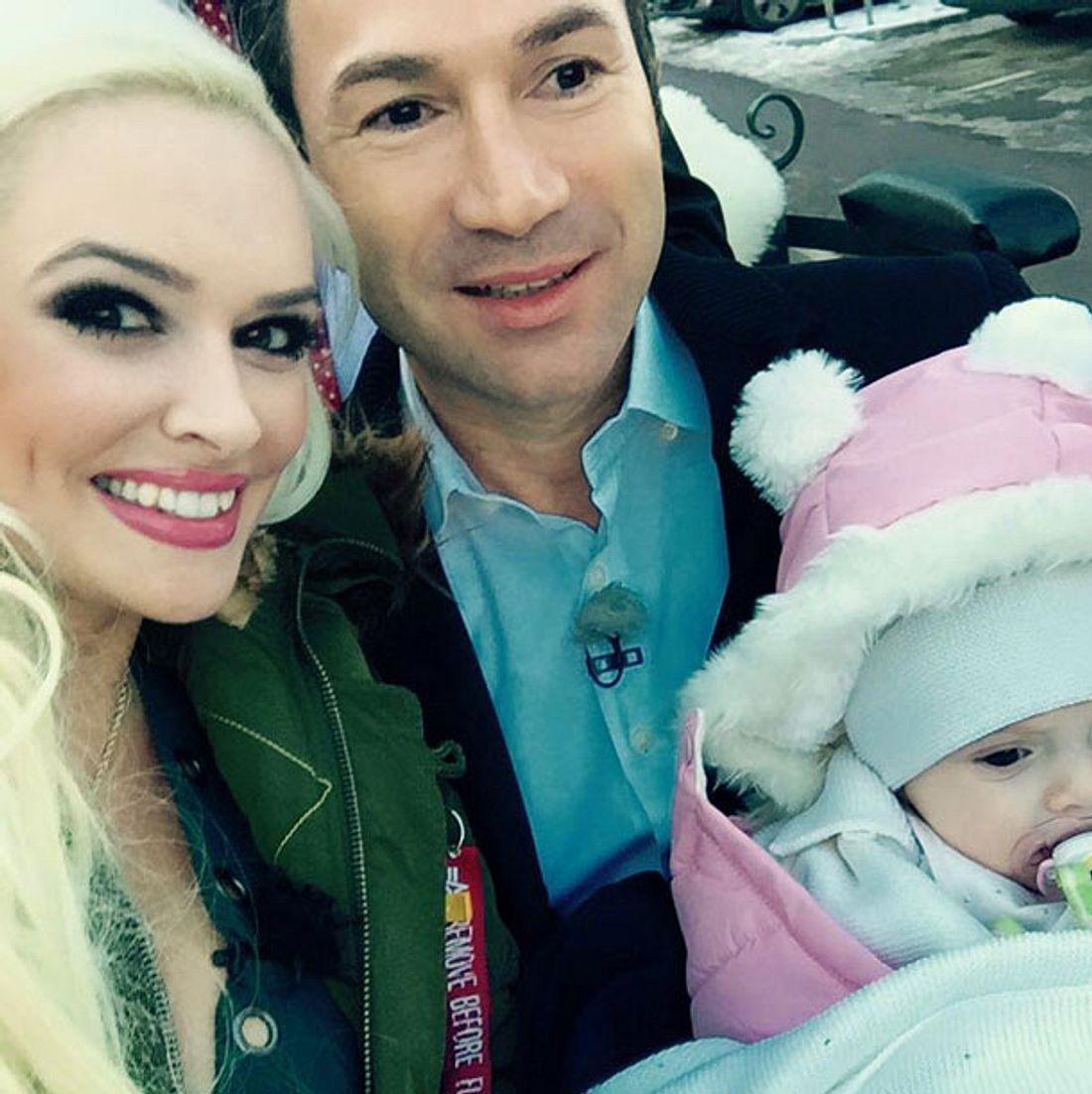 Daniela Katzenberger Lucas Cordalis Baby Sophia Taufe