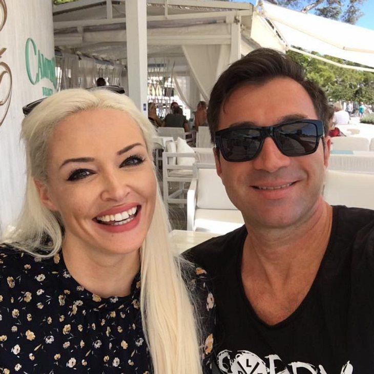 Lucas Cordalis begleitet Daniela Katzenberger zur Pediküre