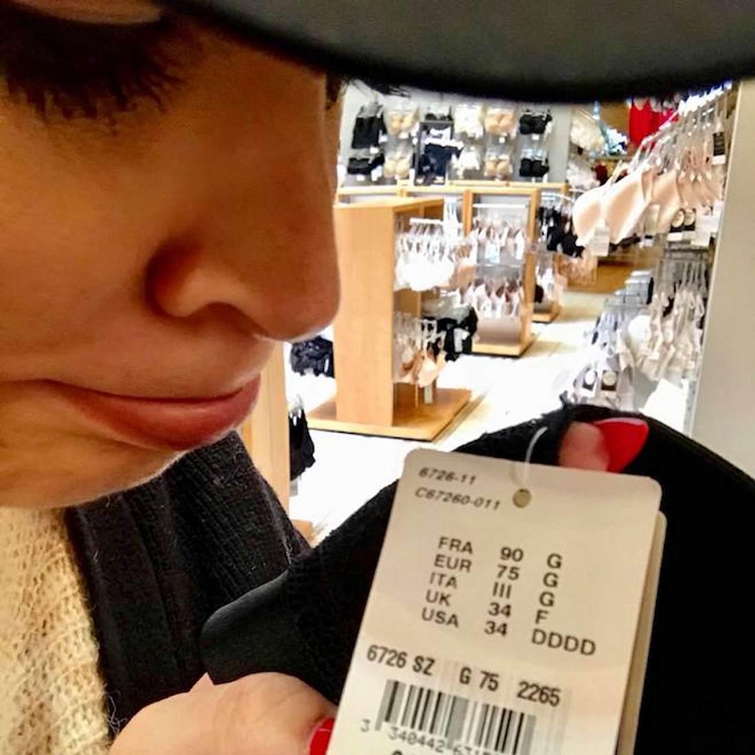 Daniela Katzenberger: Gefrustet beim BH-Kauf