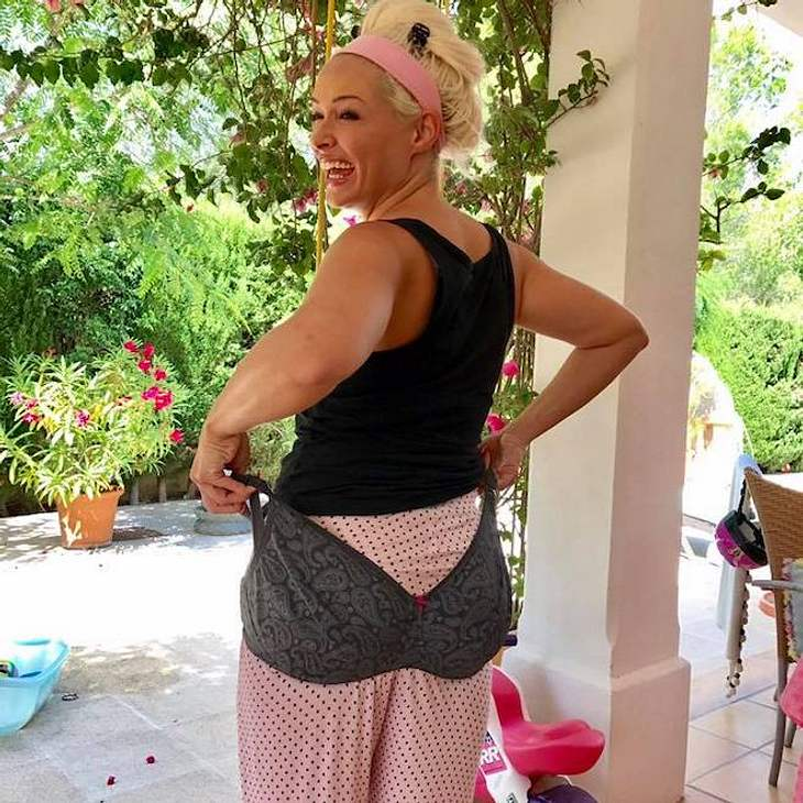 Daniela Katzenberger: Sie amüsiert sich über ihren Still-BH