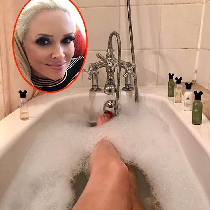 Daniela Katzenberger: Dieses Bade-Bild spaltet die Fans