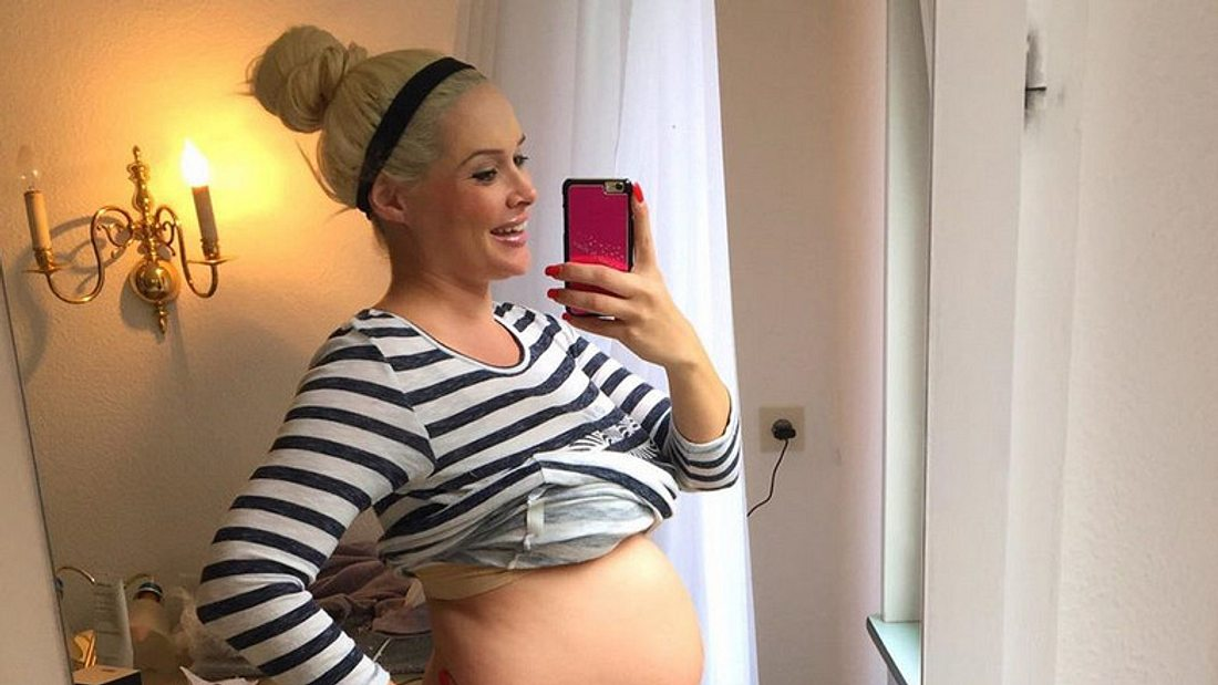 Daniela Katzenberger: Süßes Babybauch-Foto