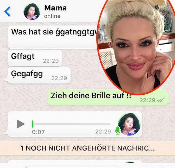 """""""Zieh deine Brille auf!"""": Daniela Katzenberger lacht über Mama Iris Klein"""