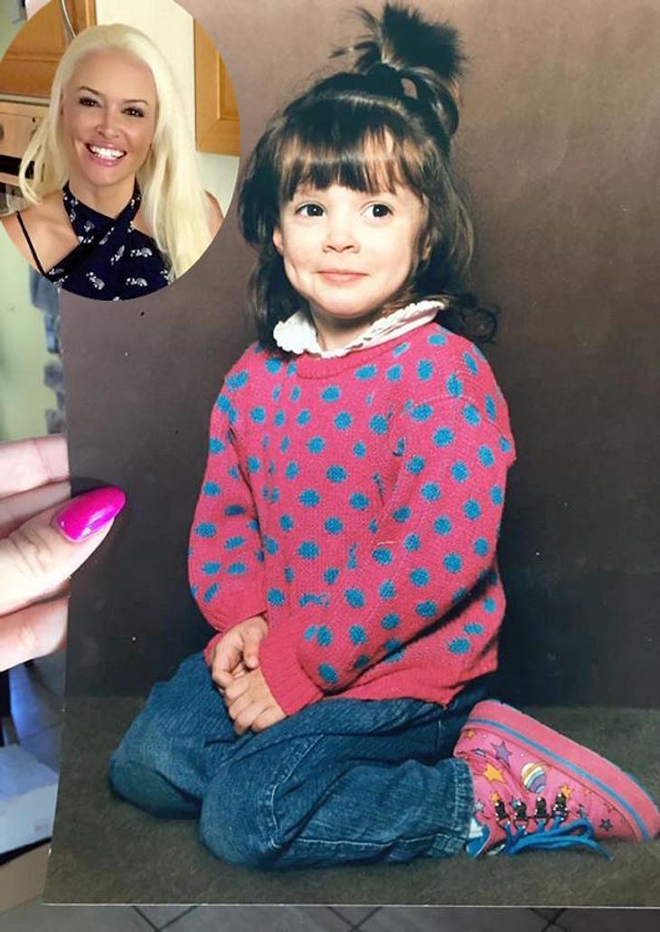 Daniela Katzenberger: So süß war sie als Kind