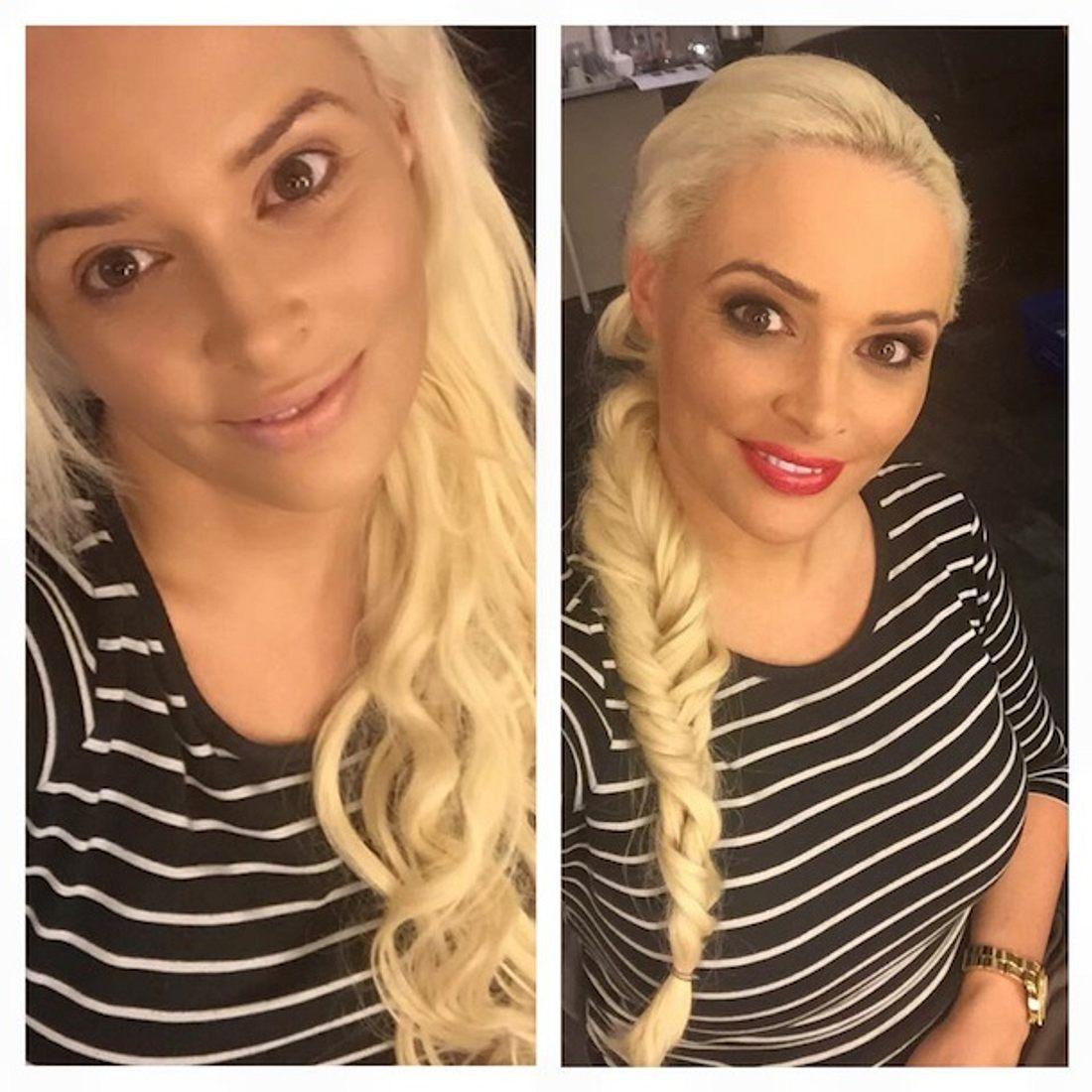Daniela Katzenberger: Mit diesem vorher-nachher-Selfie begeistert sie ihre Fans