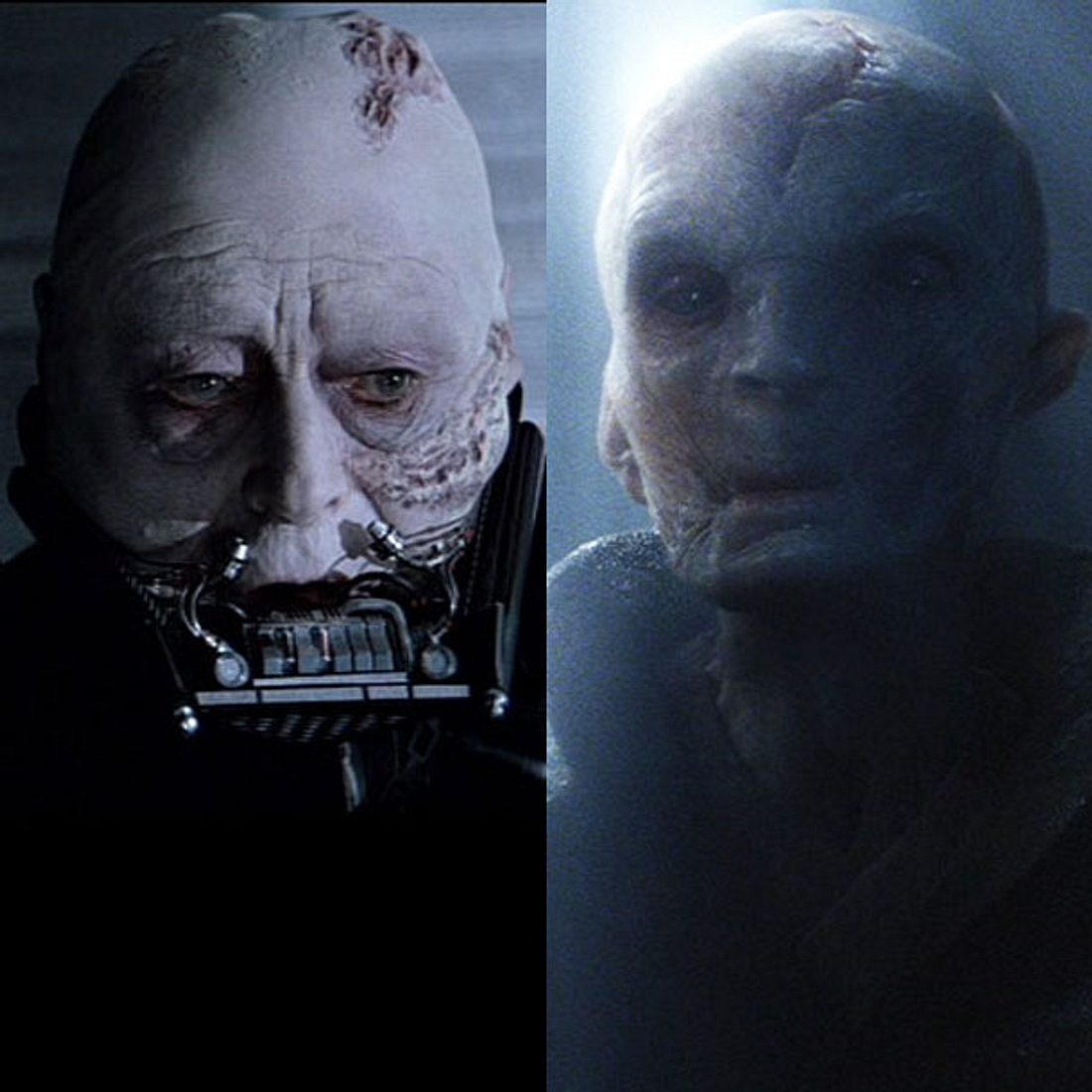 Ist Snoke Darth Vader?