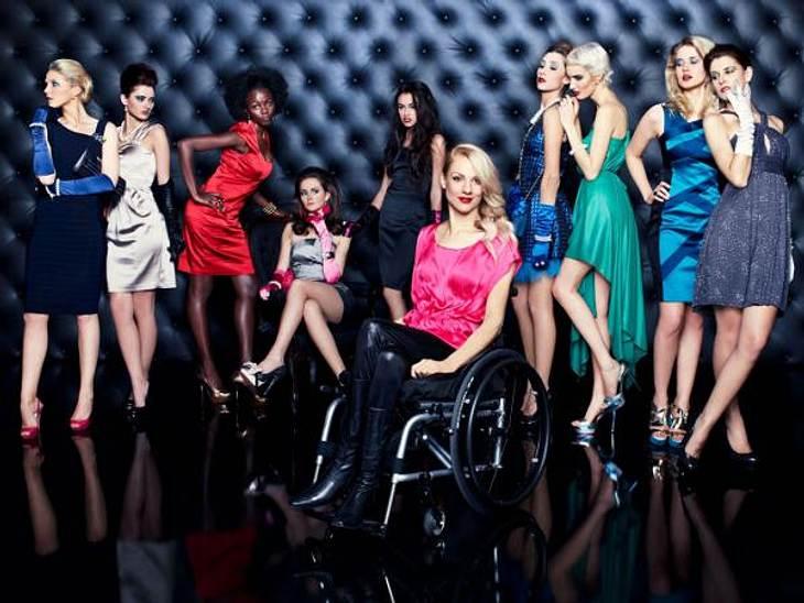 """""""Das perfekte Model"""" Zehn Kandidatinnen von """"Das perfekte Model"""" perfekt in Szene gesetzt.,Die Modetrends der Stars >>"""