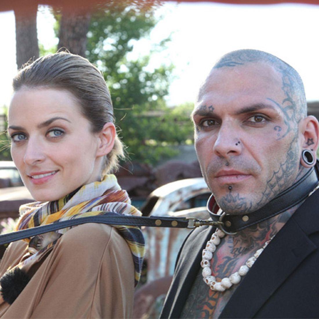 Eva Padberg (32) und Werbedreh-Star Tattitude