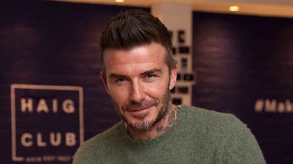 Sieht man hier den Penis von David Beckham? - Foto: GettyImages