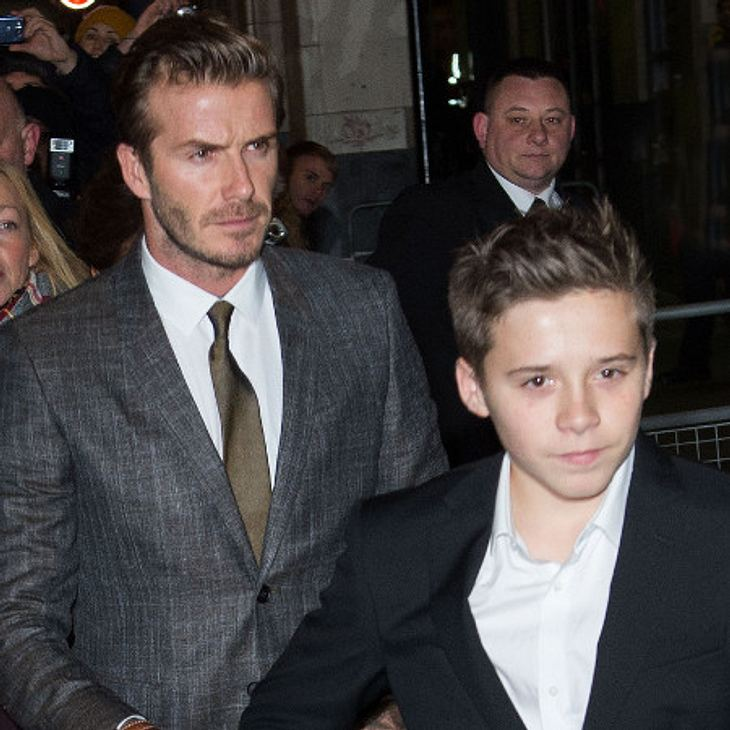 Schreck für David Beckham! Er verursachte einen Autounfall, bei dem auch Sohn Brooklyn involviert war.