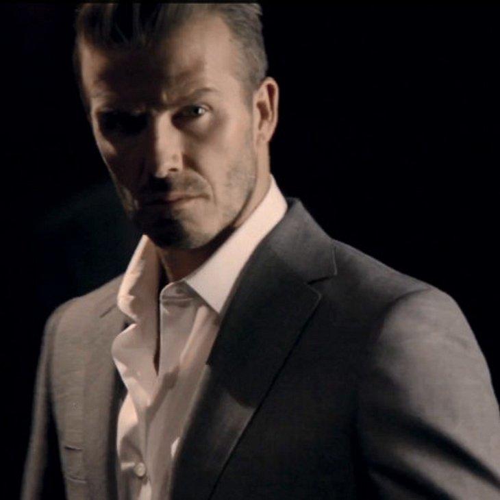 David Beckham wirbt für sein Parfüm
