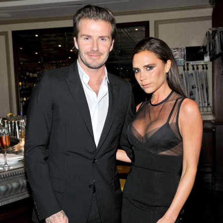 Victoria Beckham verweigert ihrem Gatten David Beckham Küsse!