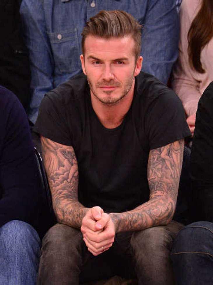 David Beckham gehört zu den Sexiest Men Alive