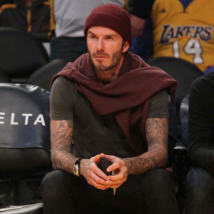 Bekommt David Beckham Ärger mit seiner Frau?
