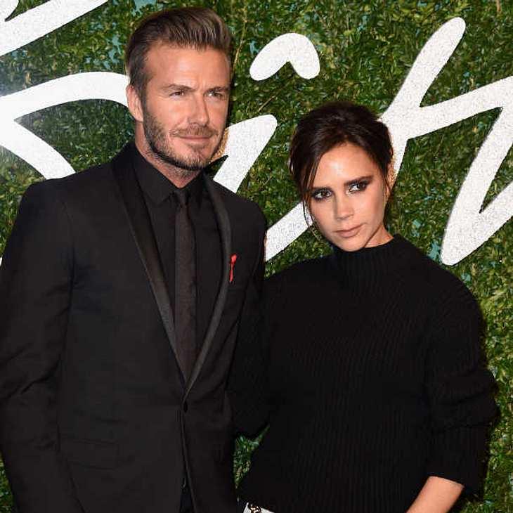 Harmonie pur bei den Beckhams