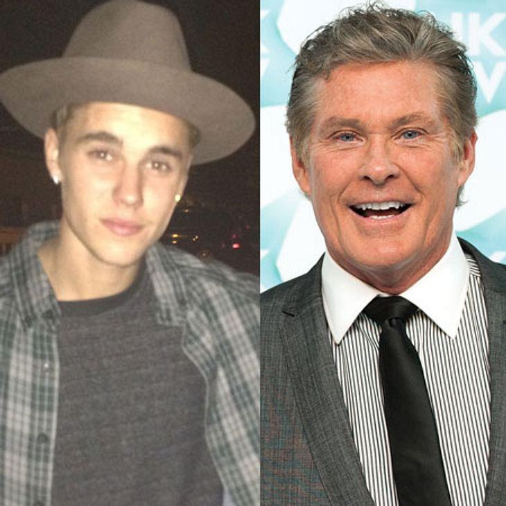 David Hasselhoff und Justin Bieber: Gemeinsames Duett?