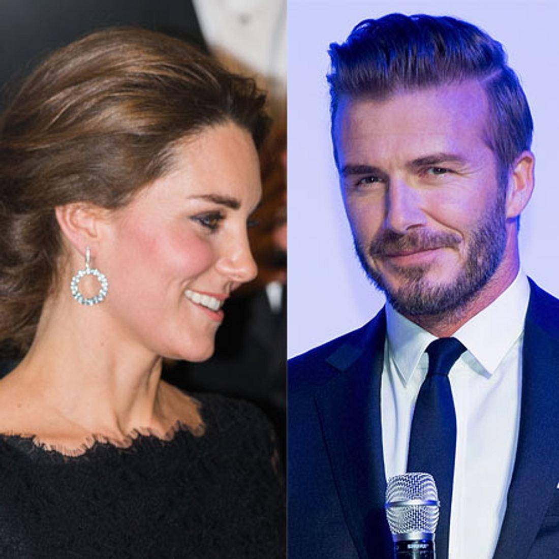 David Beckham gibt Herzogin Kate Tipps!