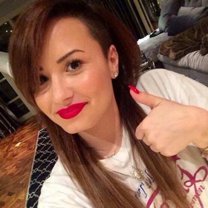 Demi Lovato hat jetzt braune Haare
