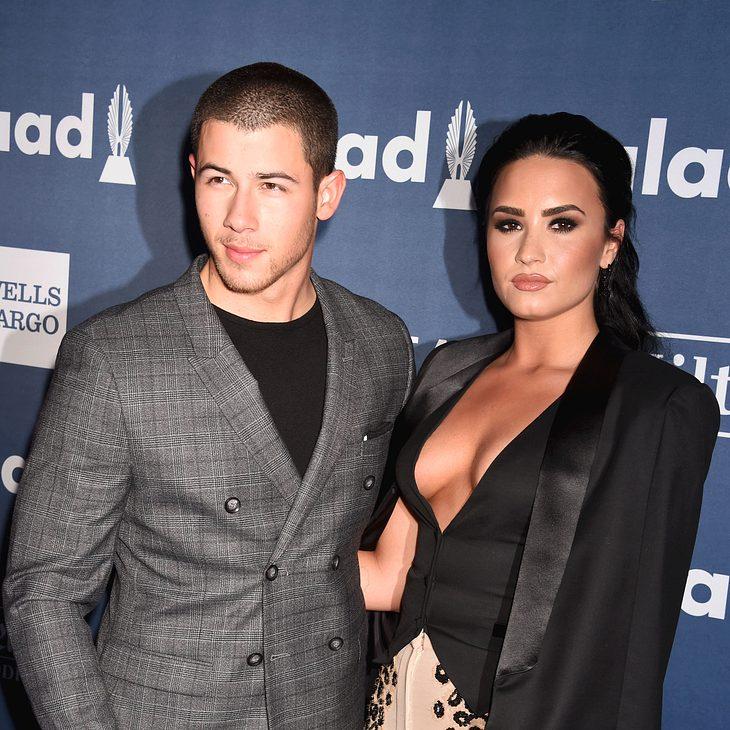 Nick Jonas und Demi Lovato sagen ihr Konzert ab