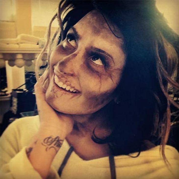 Demi Lovato übt schon mal für Halloween