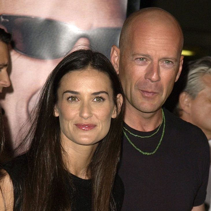 Feiern Demi Moore und Bruce Willis ein Comeback?